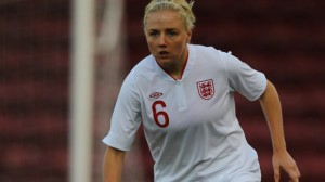 Alex Greenwood scores on 1st competitive start.