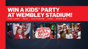 Win a kids party at wembleystadium