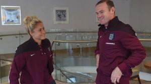 England skippers talk Wembley