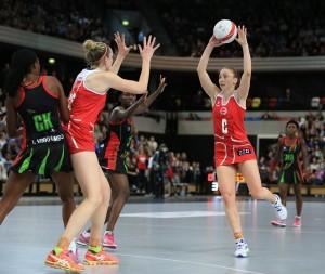 Netball - International Netball Series - England v Malawi - Copper Box Arena