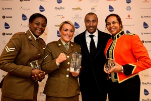 ARMY SPORTS AWARDS 2014 AT THE GUILDHALL
