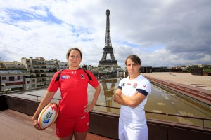 WC 2014 two captains Eiffel Tower