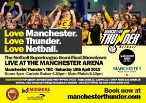 Manchester Thunder - Semi-Final Showdown