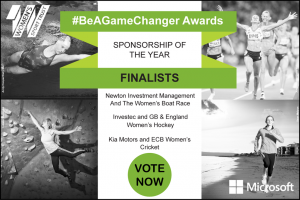 BeAGameChanger Awards Sponsorship of the Year