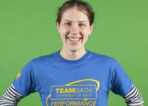 06/11/2013 Eva Piatrikova, a student of Sports Performance at University of Bath, whose specialism is swimming.