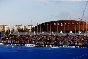 Hockey - Unibet EuroHockey Championships 2015 - Lee Valley Hockey Centre, Queen Elizabeth Olympic Park - 22/8/15 General view Mandatory Credit: Action Images / Peter Cziborra Livepic EDITORIAL USE ONLY.