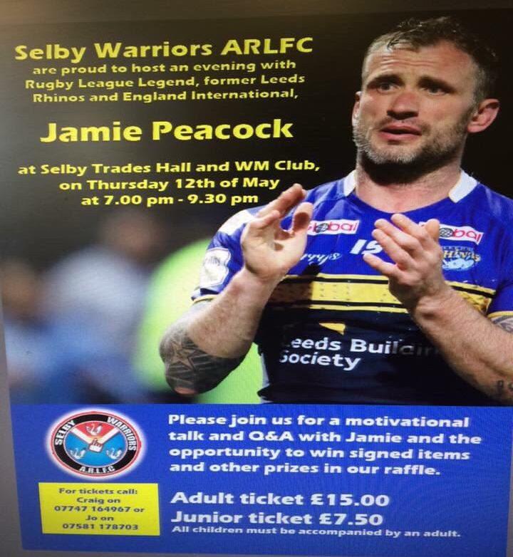 Jamie Peacock event