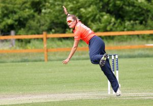 Alex Hartley in action for England Women's Academy, 2015, credit Don Miles
