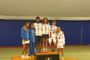 Junior Mixed Doubles Esah Hayat and Phoebe Suthers - Copy