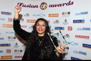 Nalisha Patel Winner of Kumon Achievement in Sport Fusion Awards 2015