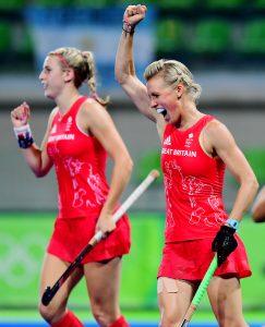 RIO - Women's Olympic Hockey tournament 10 India - Great Britain foto: Alex Danson. WORLDSPORTPICS COPYRIGHT FRANK UIJLENBROEK