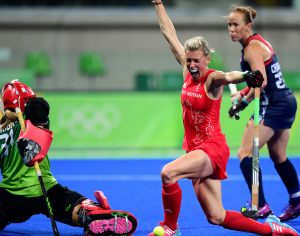 RIO - Women's Olympic Hockey tournament W28 Great Britain - USA Foto: Alex danson scored. WORLDSPORTPICS COPYRIGHT FRANK UIJLENBROEK